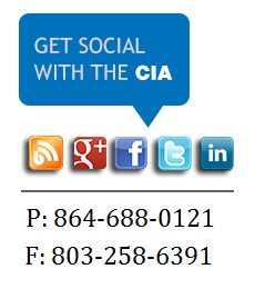 get social with the CIA, Blog, Google Plus, Facebook, Twitter, Linkedin