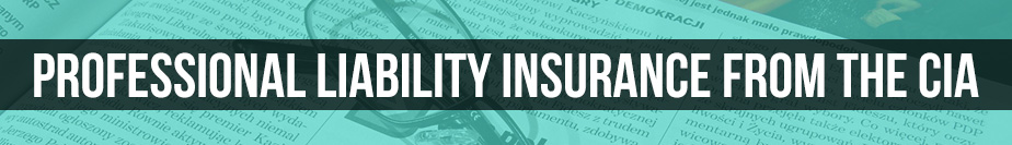 Professional Liability Insurance from the CIA