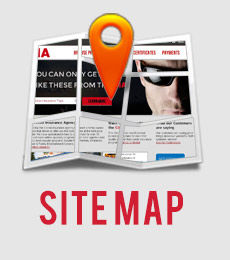 Sitemap for the CIA website